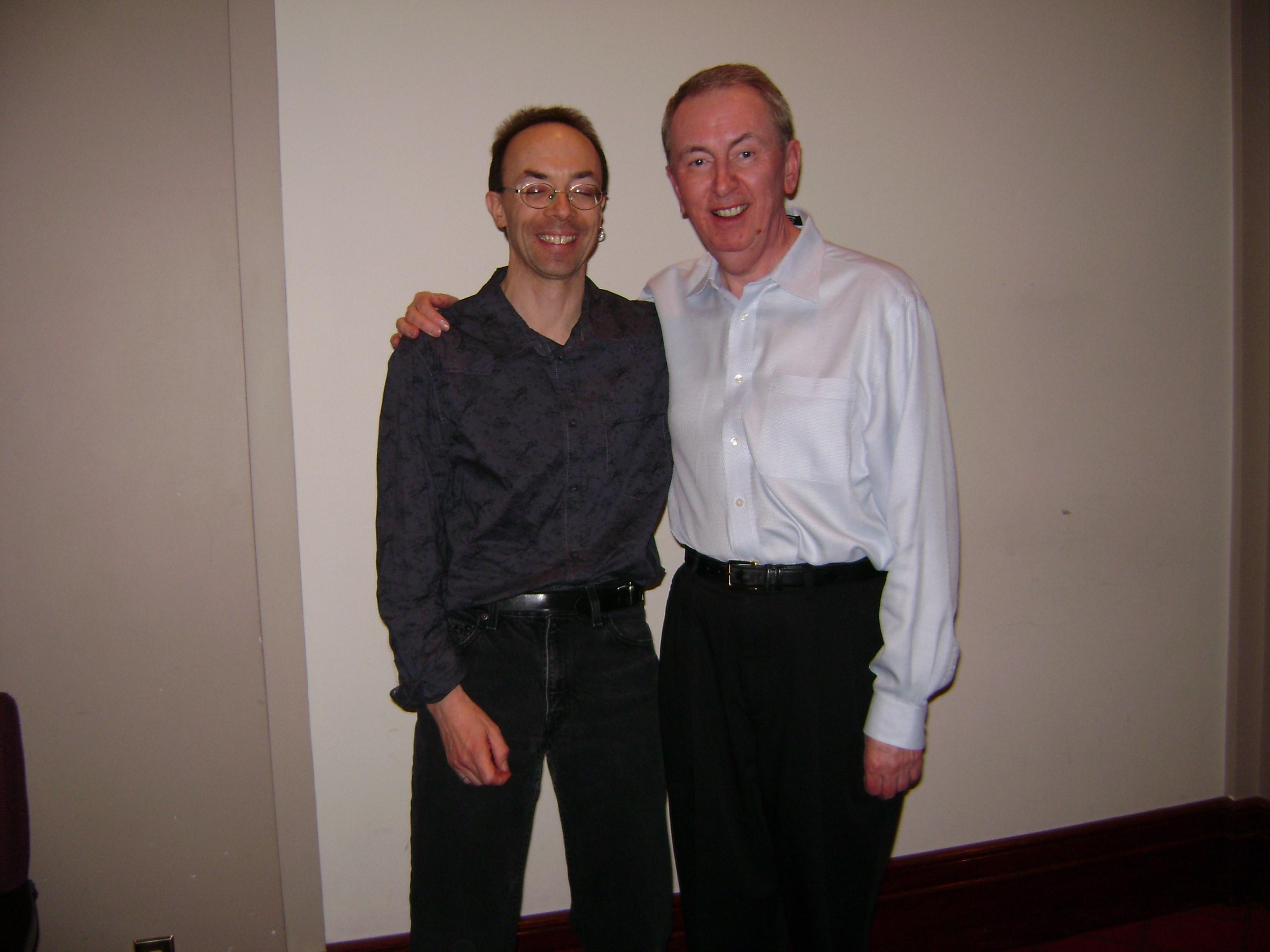 Al Stewart and Dave Nachmanoff Concert; Mar. 19, 2008